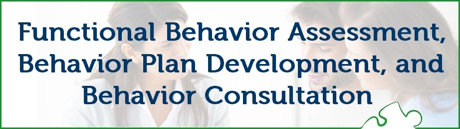 Functional Behavior Assessment Behavior Plan Development And
